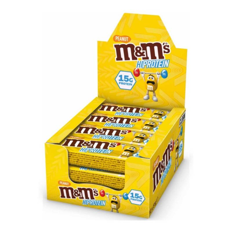 M&M Hi Protein 12 x 51g box